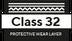 Classe 32 - capa protectora